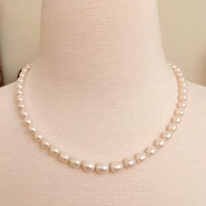 💯 Genuine Vintage Pearl Necklace! Classic style💋